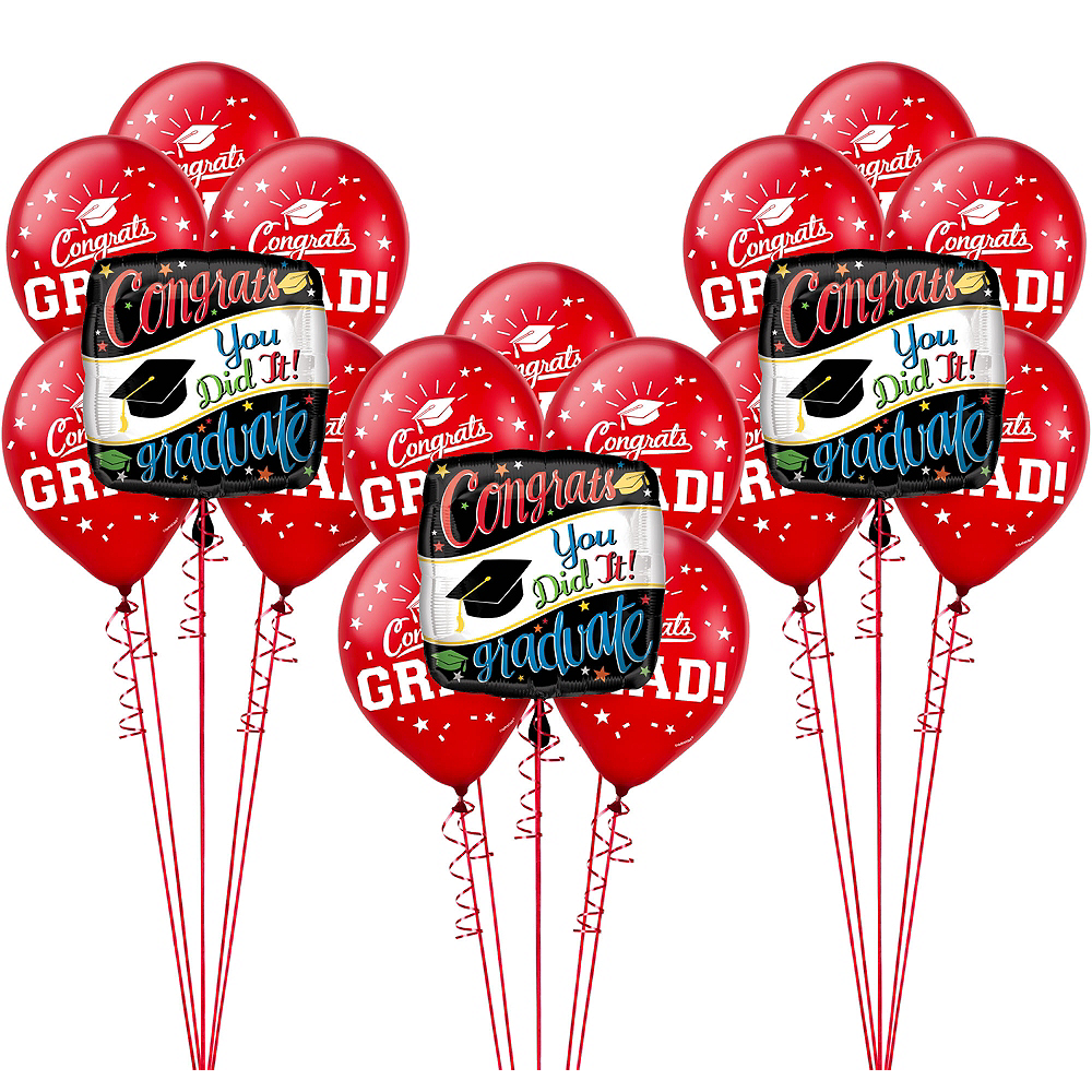 Colorful Congrats Balloon Kit Image #1