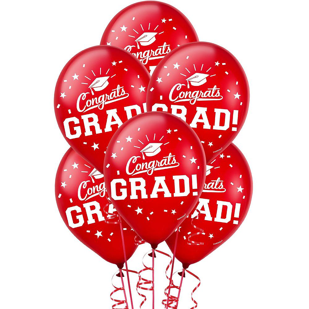 Confetti Caps Graduation Balloon Kit Image #3