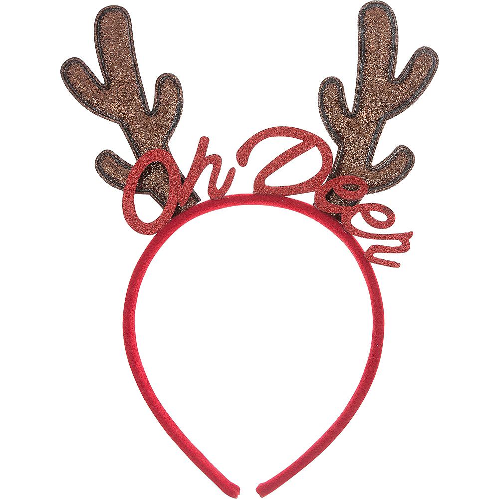 Glitter Oh Deer Reindeer Headband Image #1