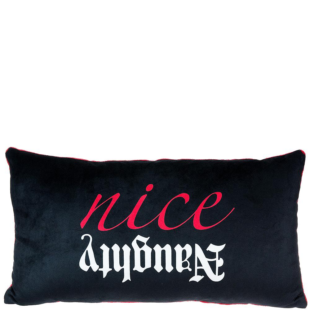 Naughty & Nice Pillow Image #1