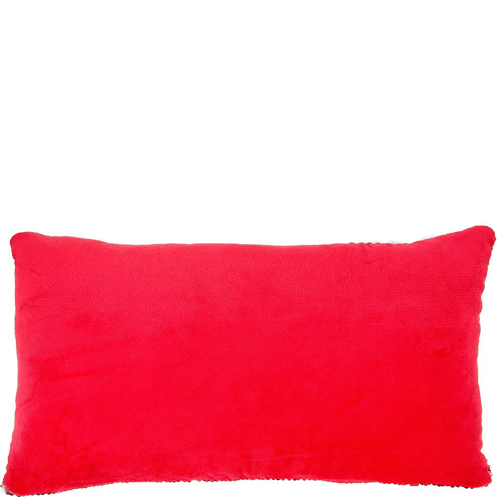 Sequin Believe Pillow Image #2