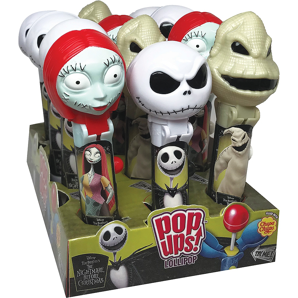 the nightmare before christmas pop ups lollipop image 1