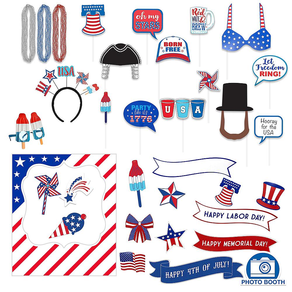 Super Patriotic Photo Booth Kit Image #1