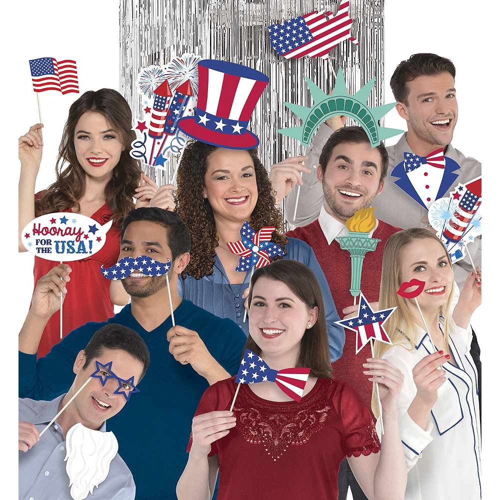 Ultimate Patriotic Photo Booth Kit Image #2