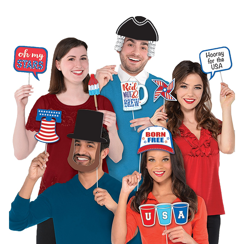 Ultimate Patriotic Photo Booth Kit Image #3