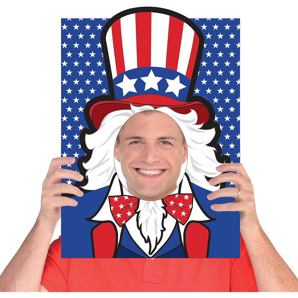 Ultimate Patriotic Photo Booth Kit Image #5