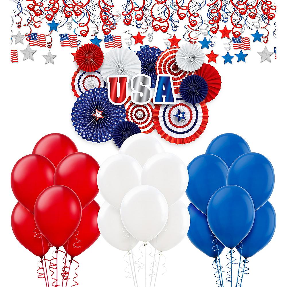 Patriotic Room Decorating Kit Image #1