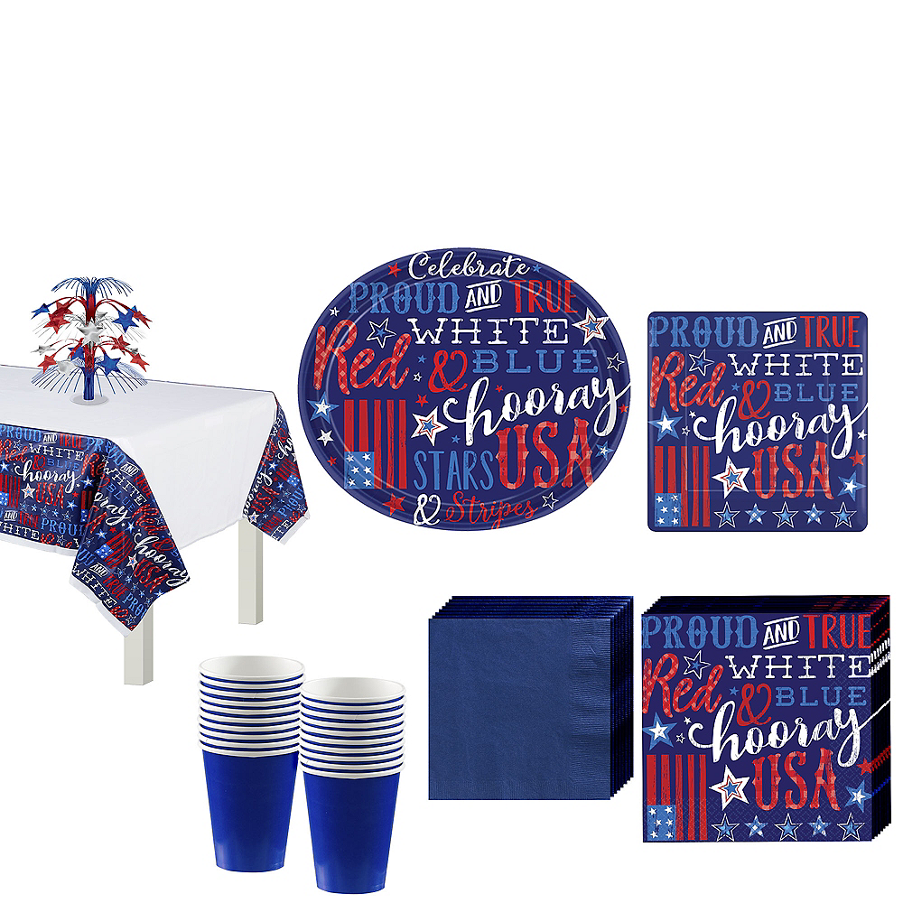 Proud & True Party Pack for 18 Guests Image #1
