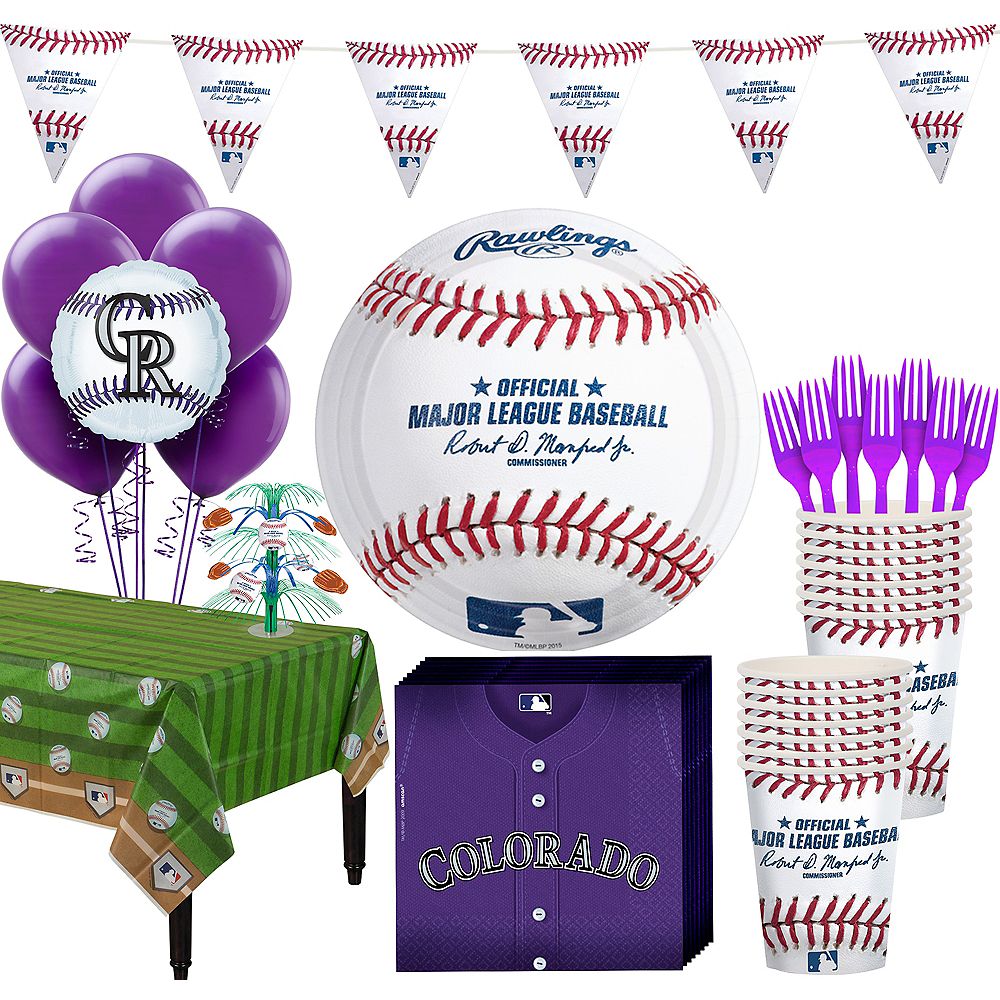 Colorado Rockies Super Party Kit for 16 Guests Image #1