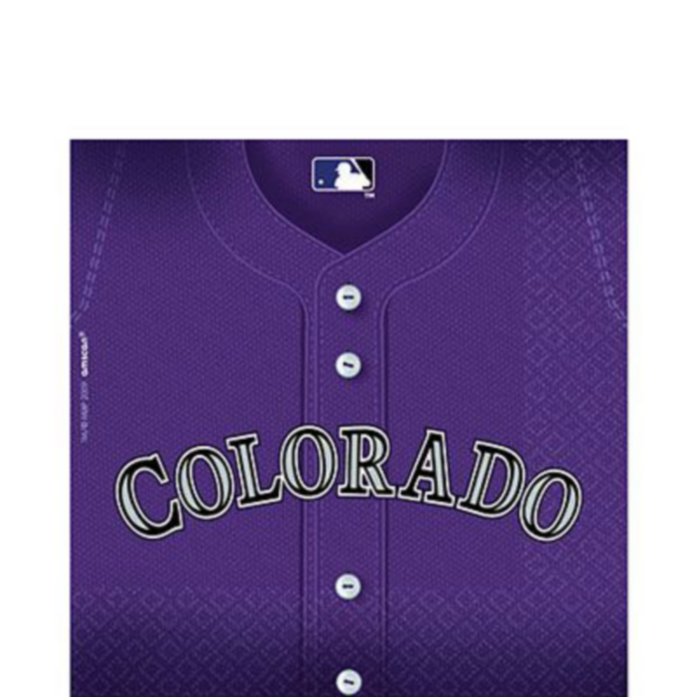 Colorado Rockies Super Party Kit for 16 Guests Image #3