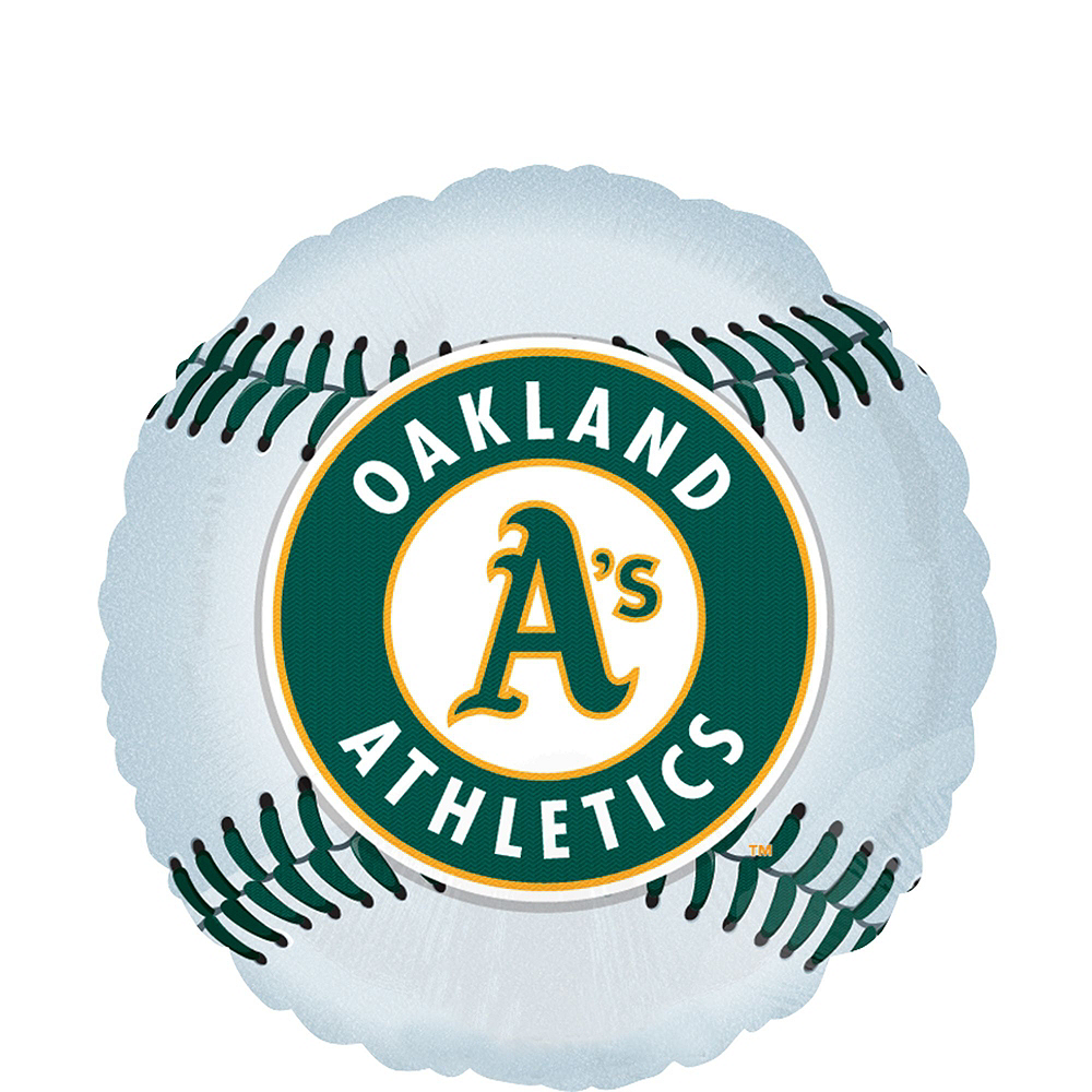 Oakland Athletics Super Party Kit for 16 Guests Image #8