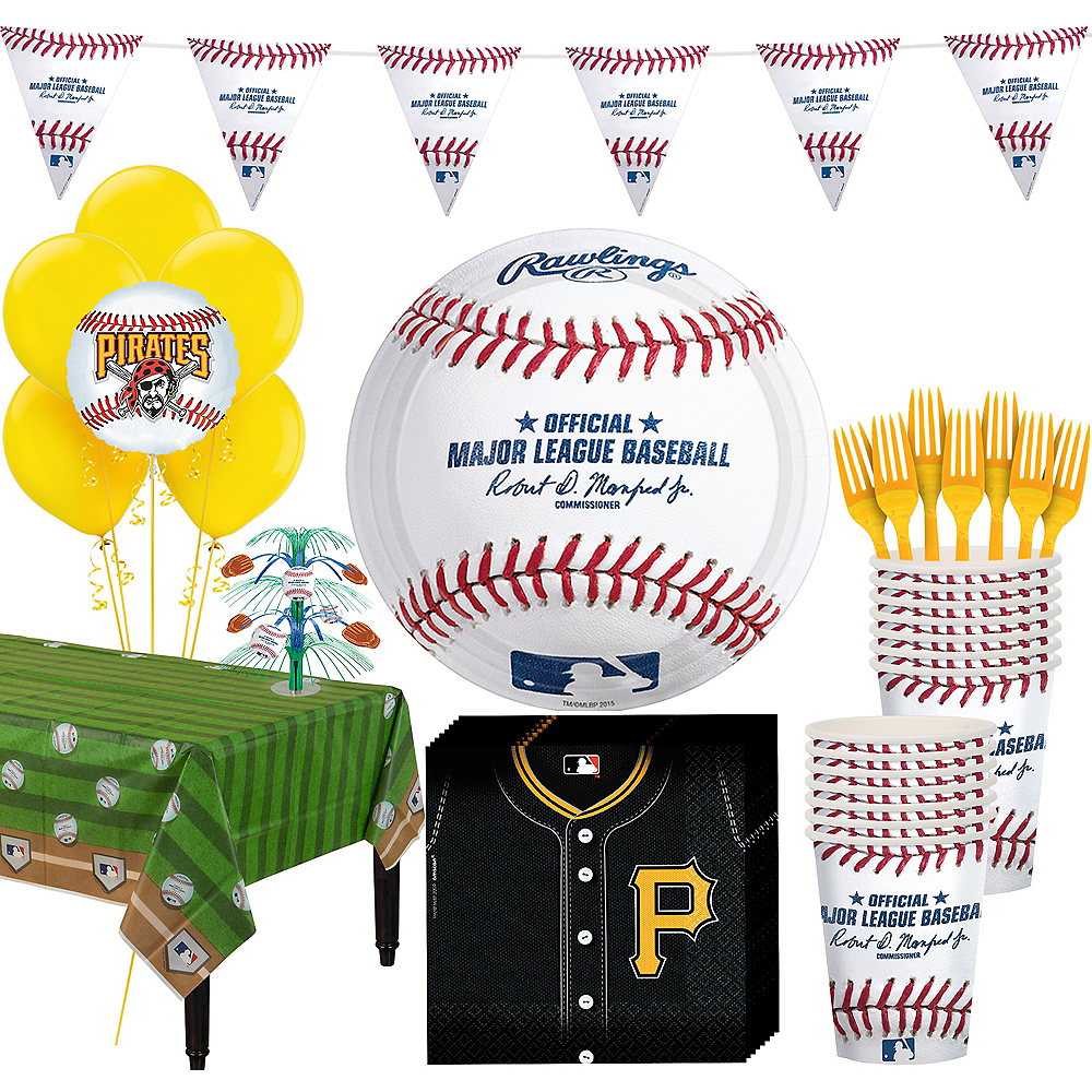 Pittsburgh Pirates Super Party Kit for 16 Guests Image #1