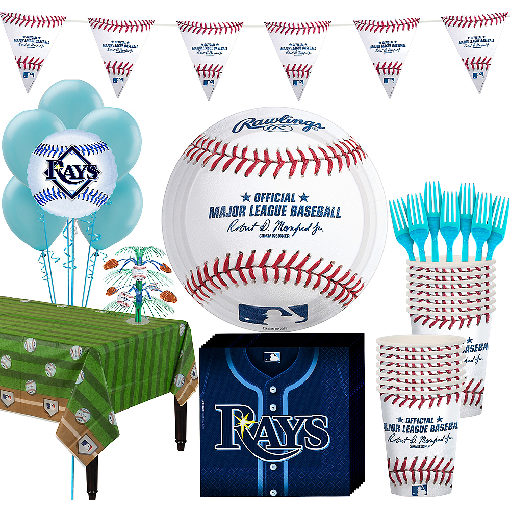 Tampa Bay Rays Super Party Kit for 16 Guests Image #1