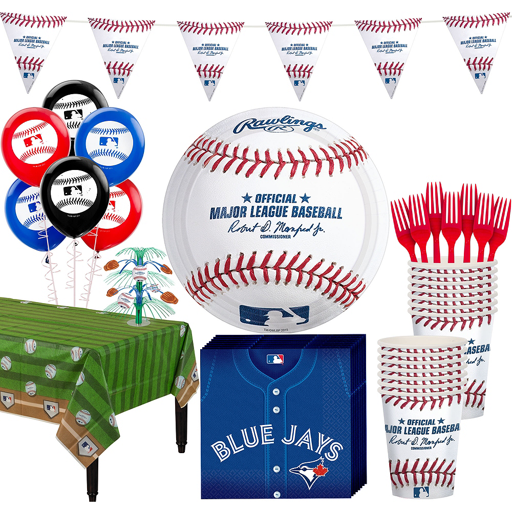 Toronto Blue Jays Super Party Kit for 16 Guests Image #1
