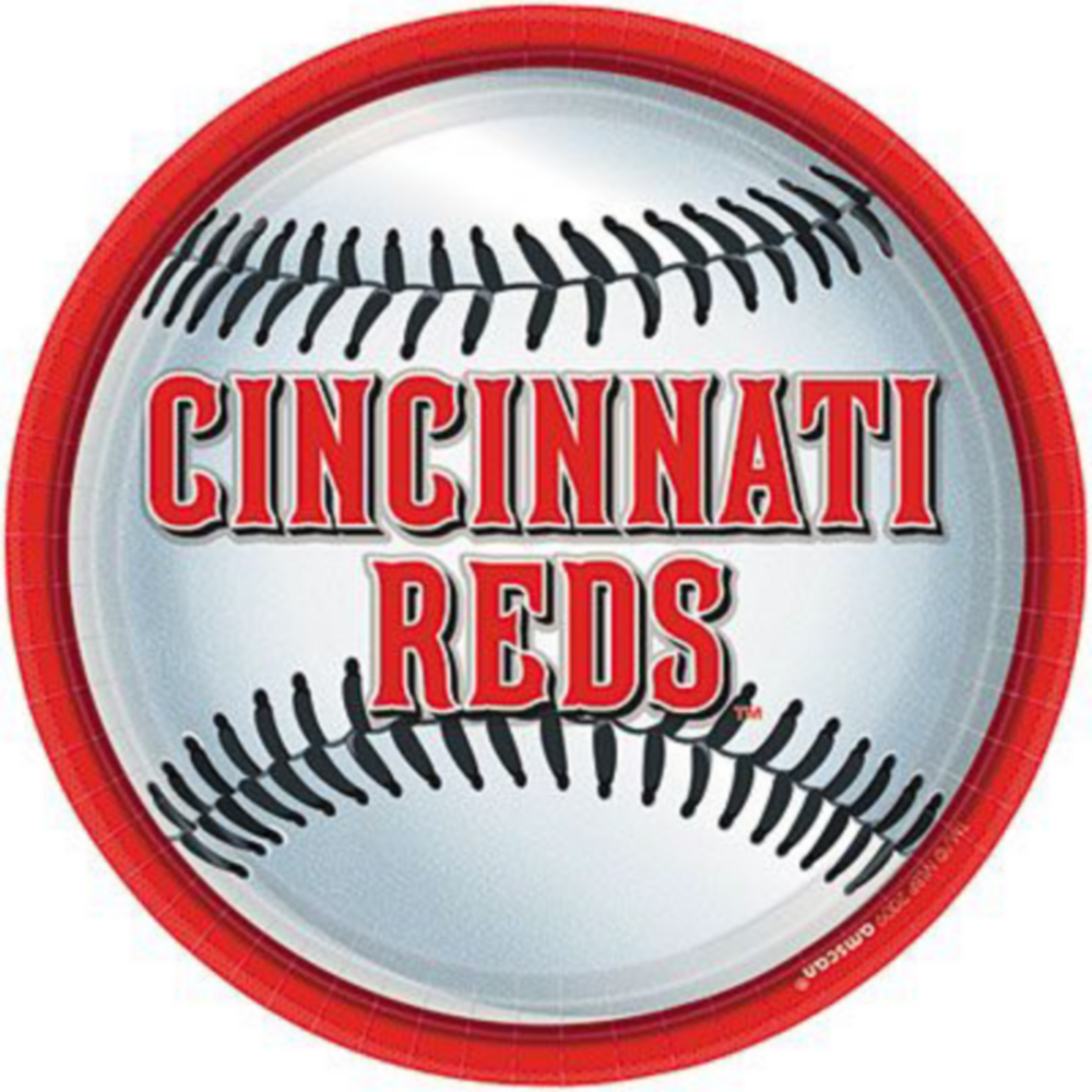 Super Cincinnati Reds Party Kit for 36 Guests Image #2