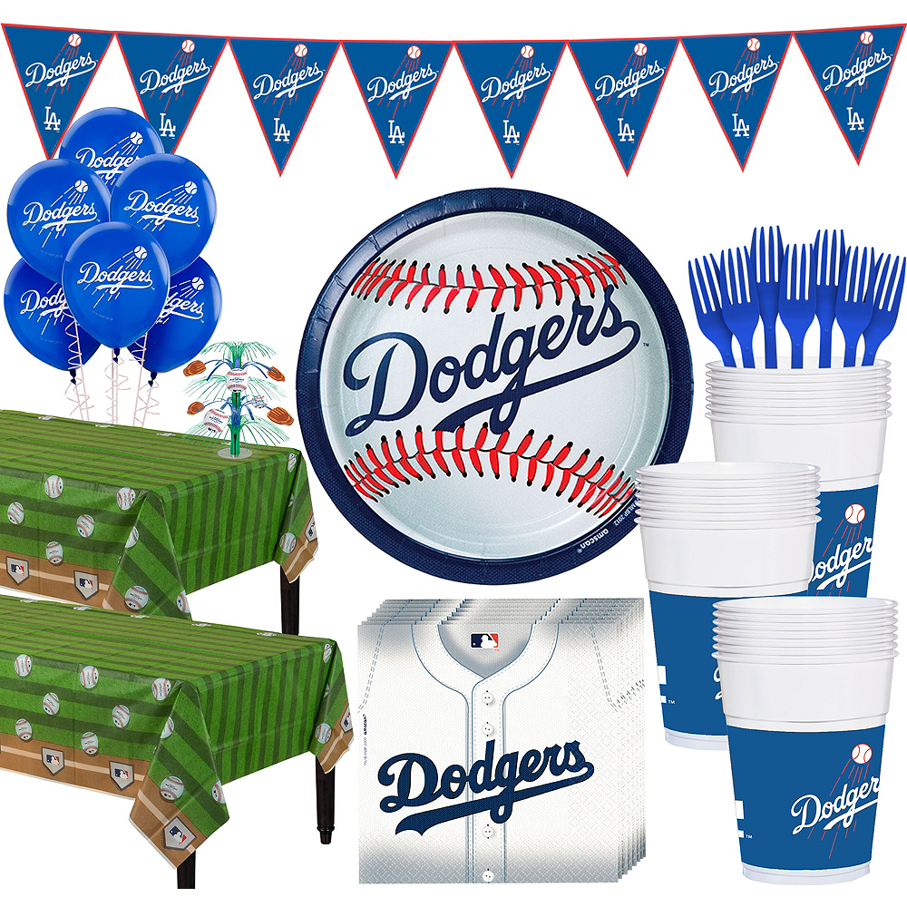 Super Los Angeles Dodgers Party Kit for 36 Guests Image #1
