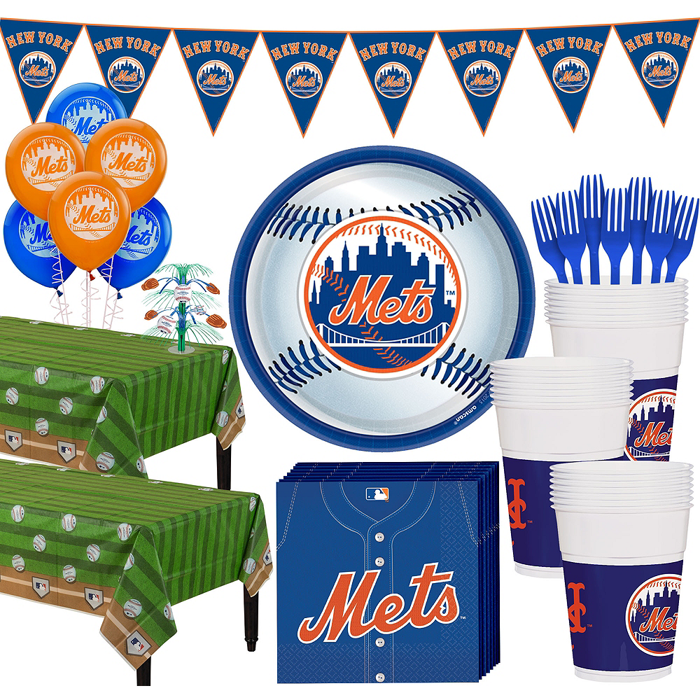 Super New York Mets Party Kit for 36 Guests Image #1