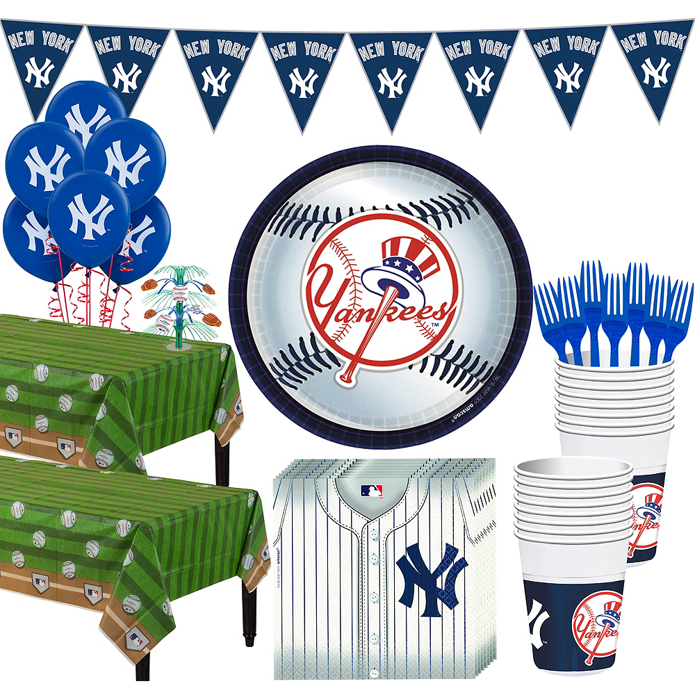 Super New York Yankees Party Kit for 36 Guests Image #1