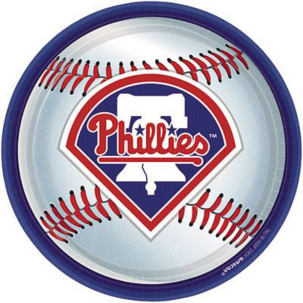Super Philadelphia Phillies Party Kit for 36 Guests Image #2