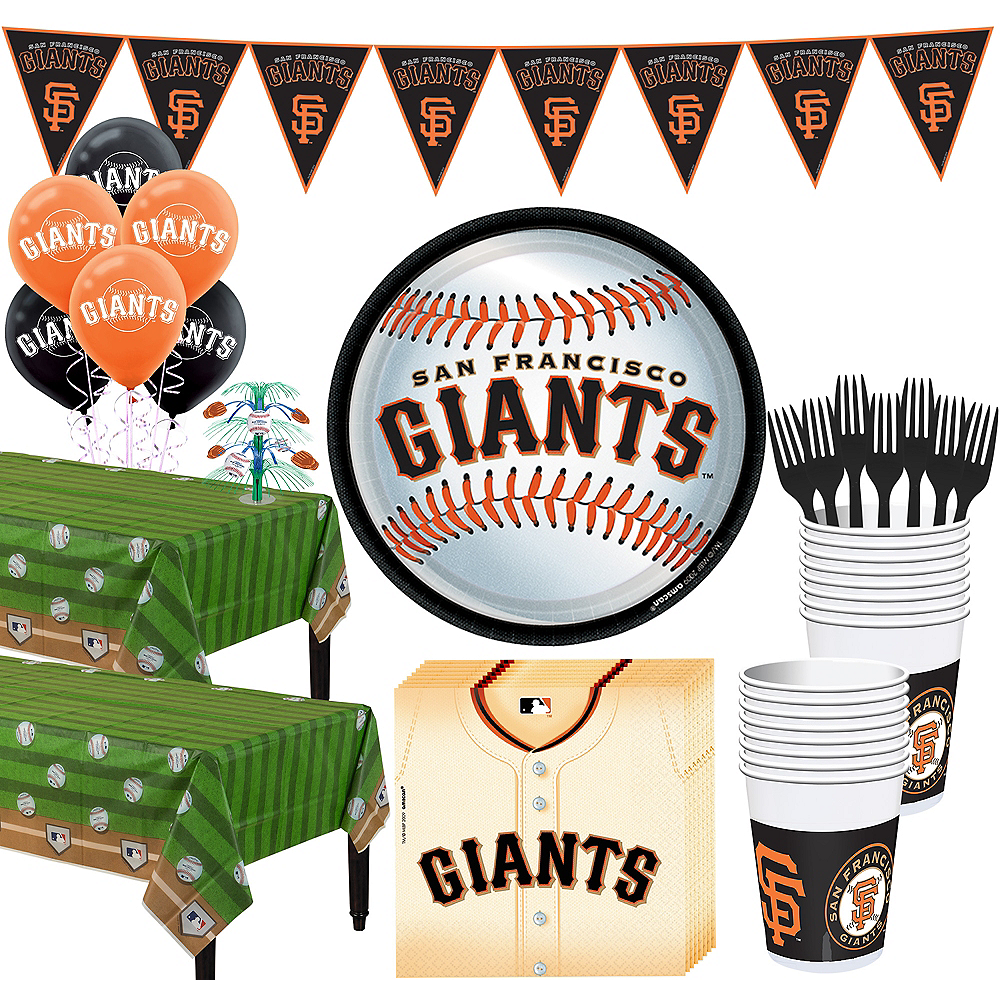 Super San Francisco Giants Party Kit for 36 Guests Image #1