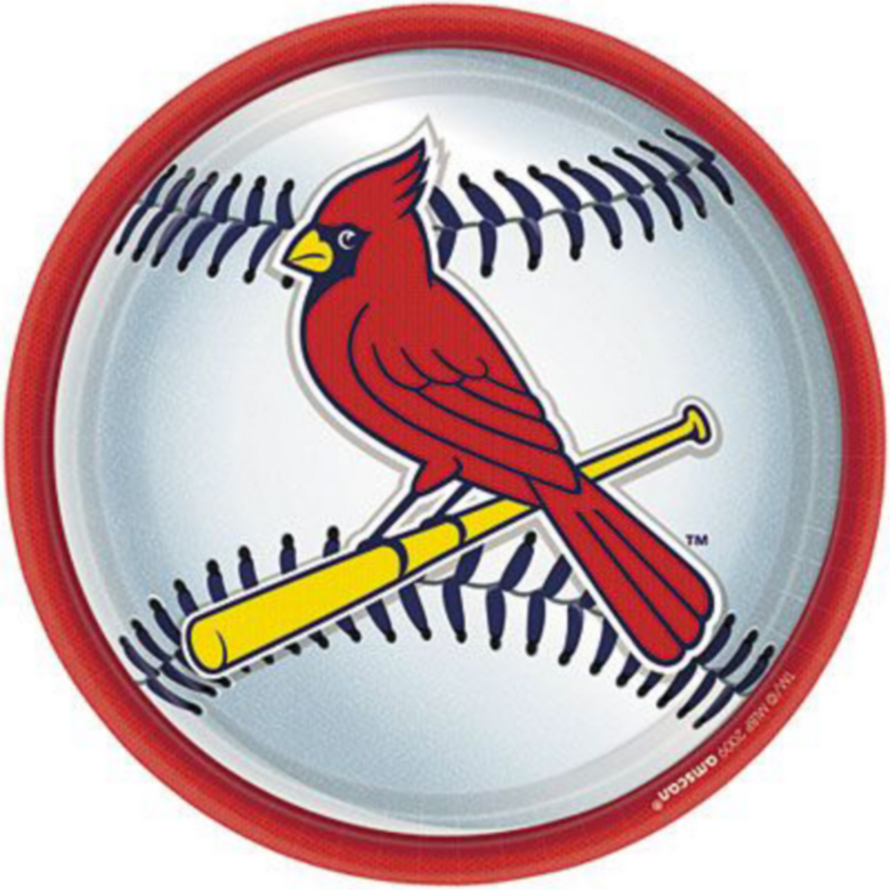 Super St. Louis Cardinals Party Kit for 36 Guests Image #2