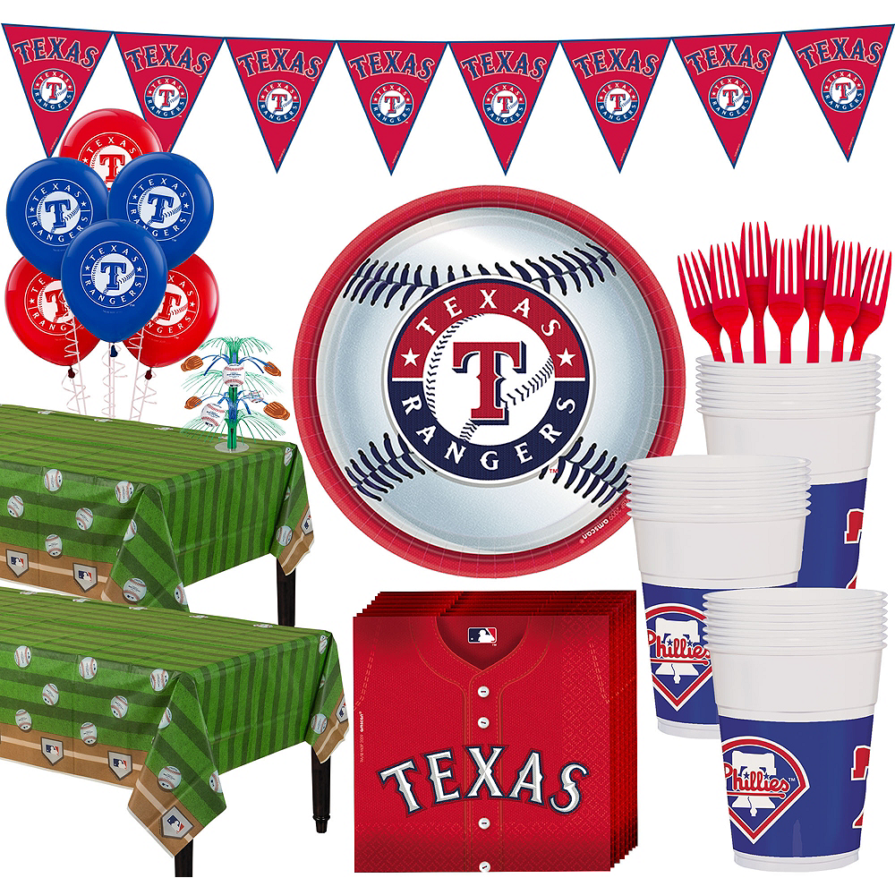 Super Texas Rangers Party Kit for 36 Guests Image #1