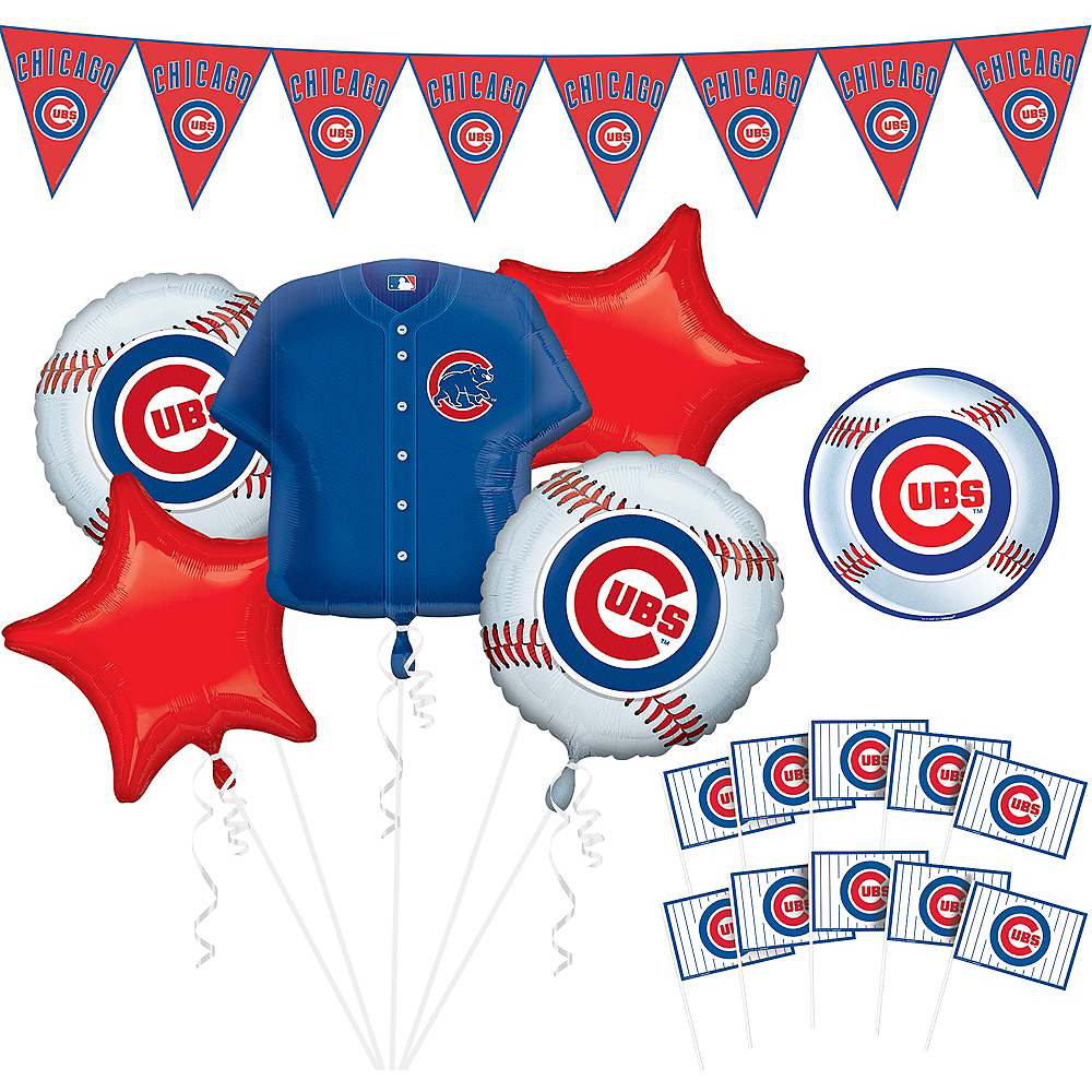 Chicago Cubs Decorating Kit Image #1