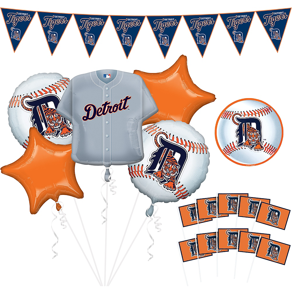 Detroit Tigers Decorating Kit Image #1