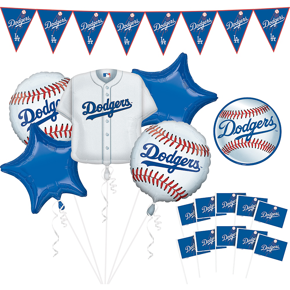 Los Angeles Dodgers Decorating Kit Image #1