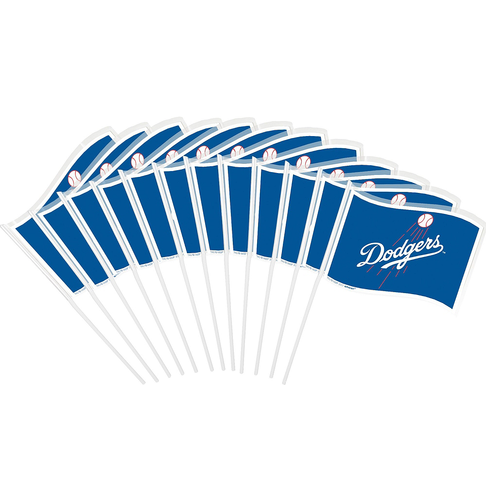 Los Angeles Dodgers Decorating Kit Image #4