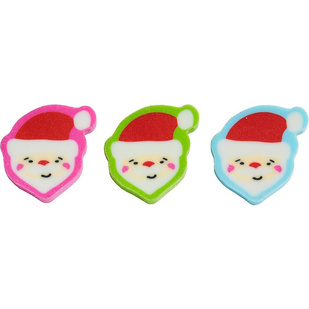 Santa Erasers 60ct Image #1