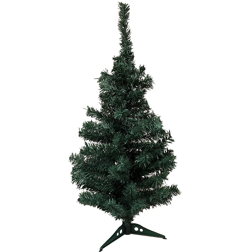Evergreen Tinsel Christmas Tree Image #1