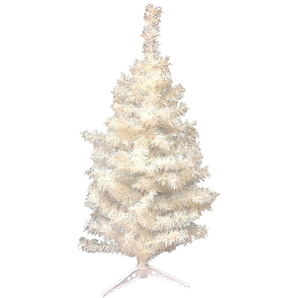 Nav Item For White Tinsel Christmas Tree Image 1