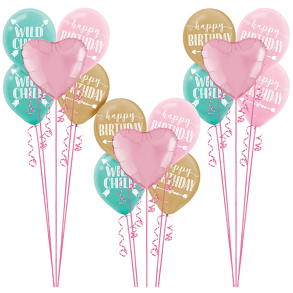 Boho Girl Balloon Kit Image #1
