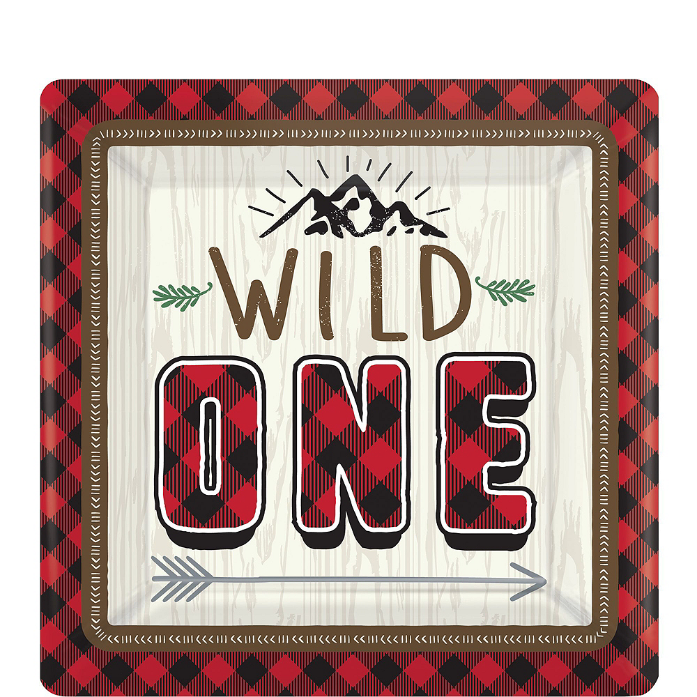 Ultimate Little Lumberjack 1st Birthday Party Kit for 32 Guests Image #13