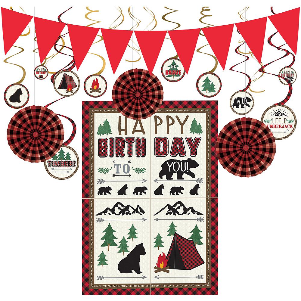 Little Lumberjack Decorating Kit Image #1