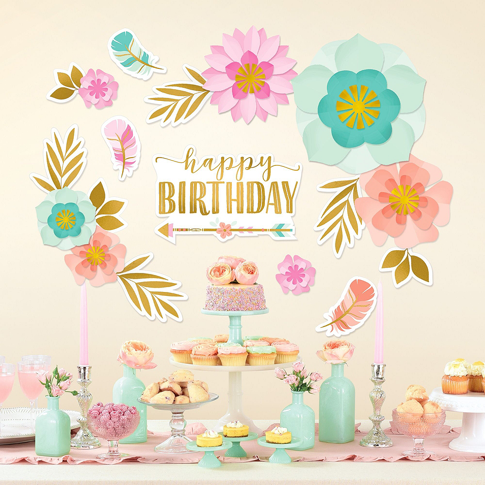 Ultimate Boho Girl Birthday Party Kit for 32 Guests Image #15