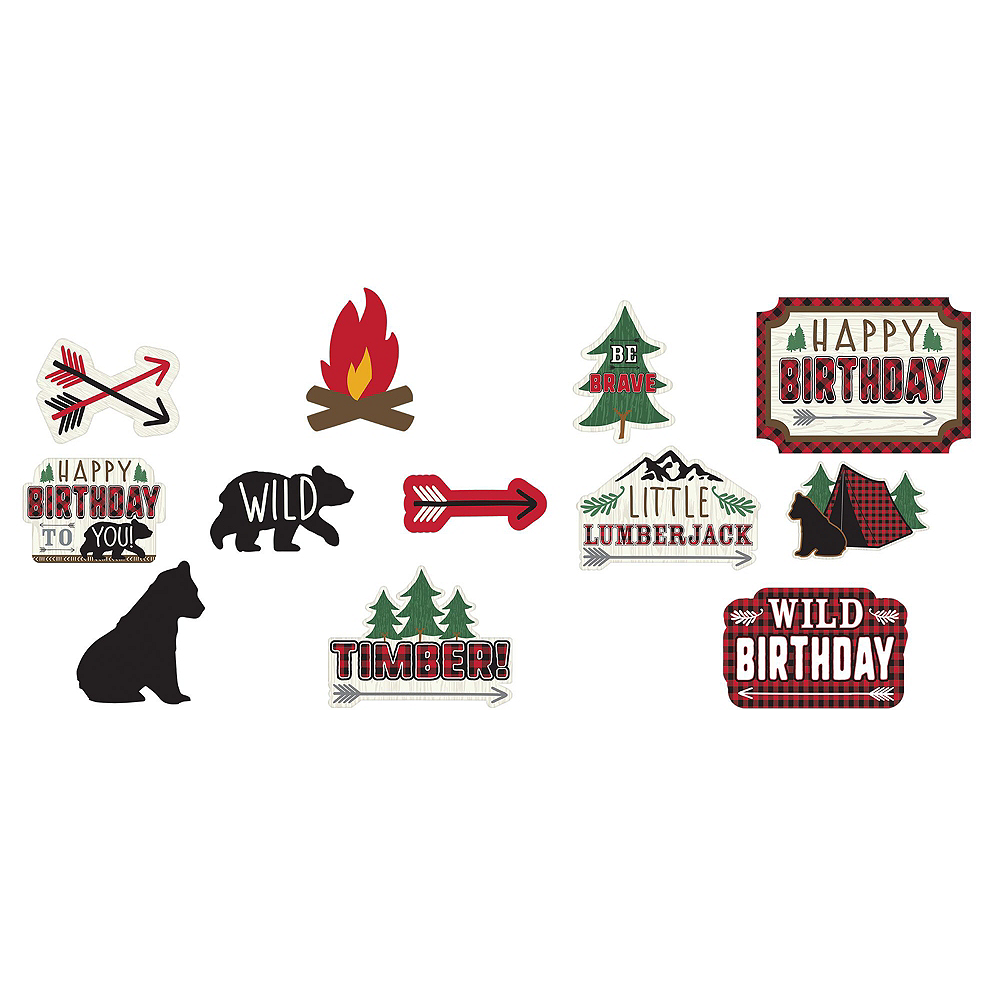 Ultimate Little Lumberjack Birthday Party Kit for 32 Guests Image #14