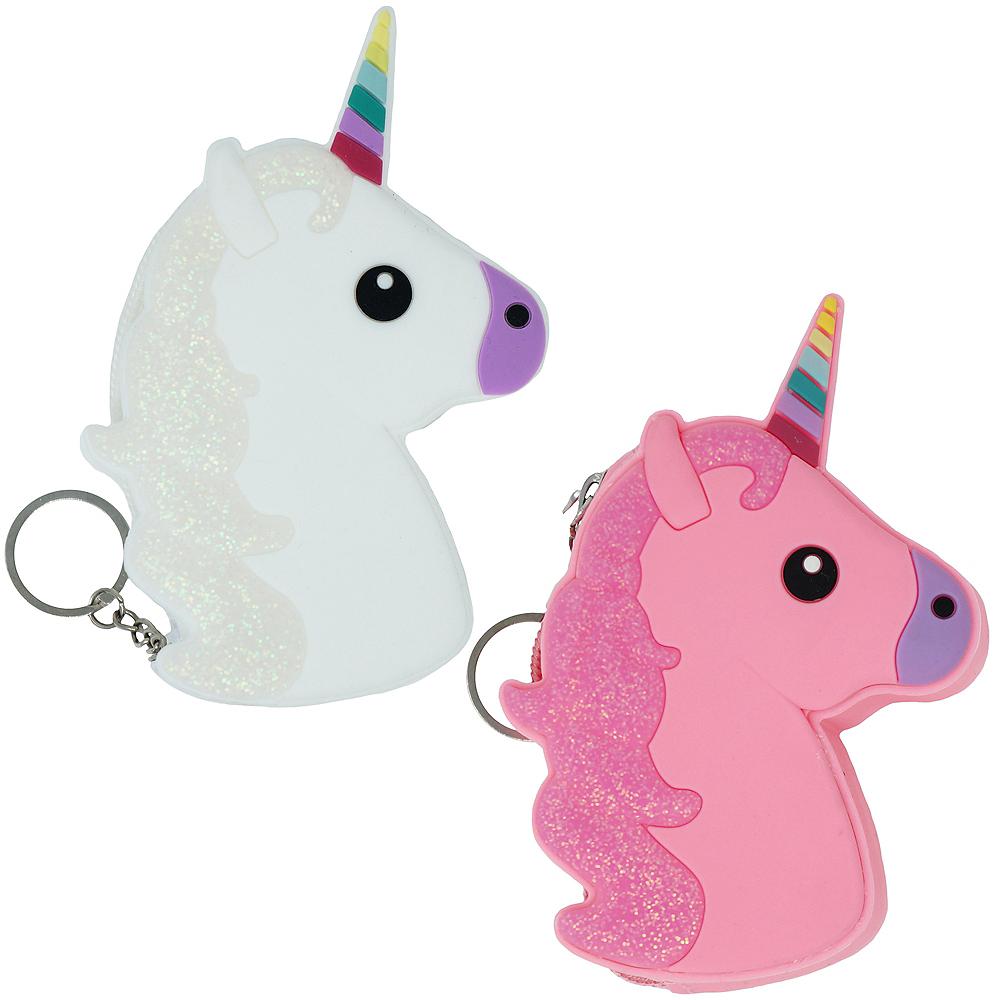 Unicorn Accessory Pouch Keychain Image #1