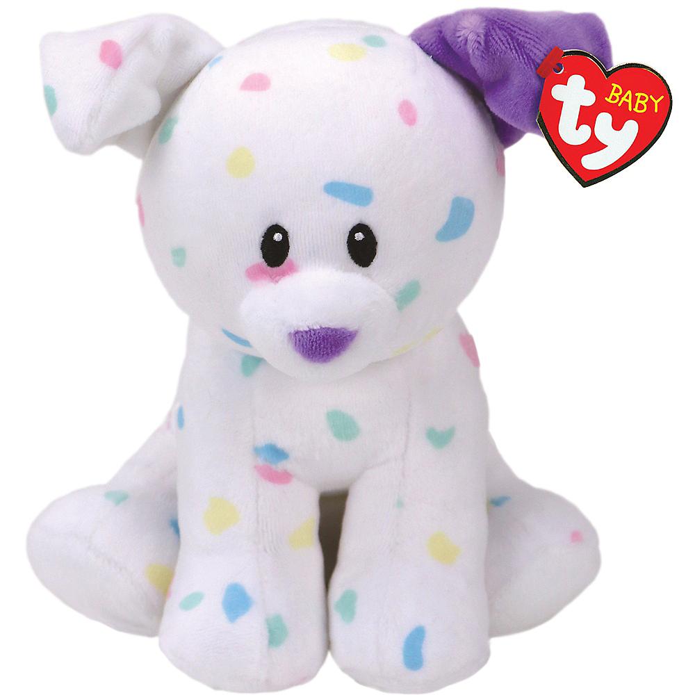 Sprinkles Beanie Baby Dog Plush Image #1