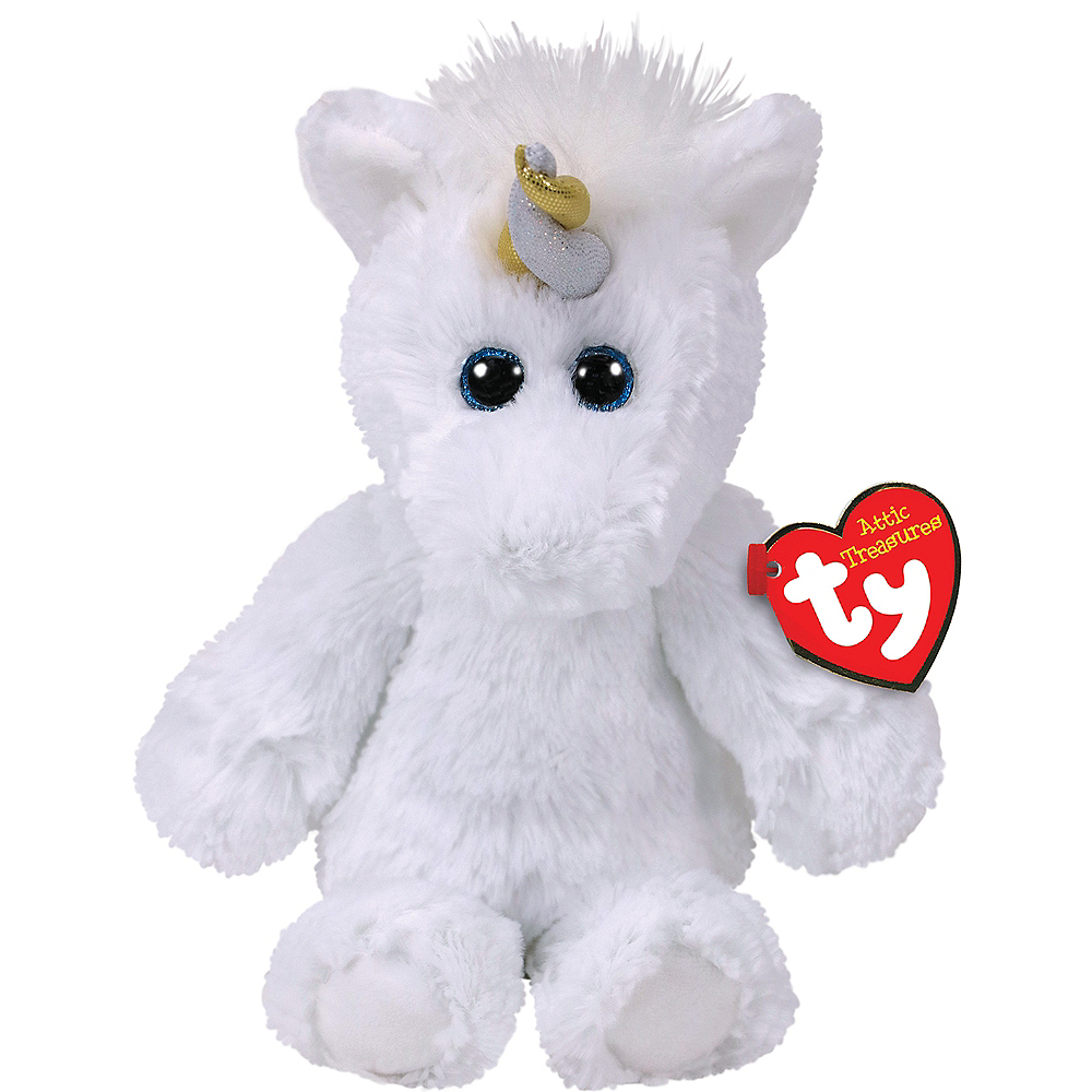 Agnus Attic Treasures Unicorn Plush Image #1