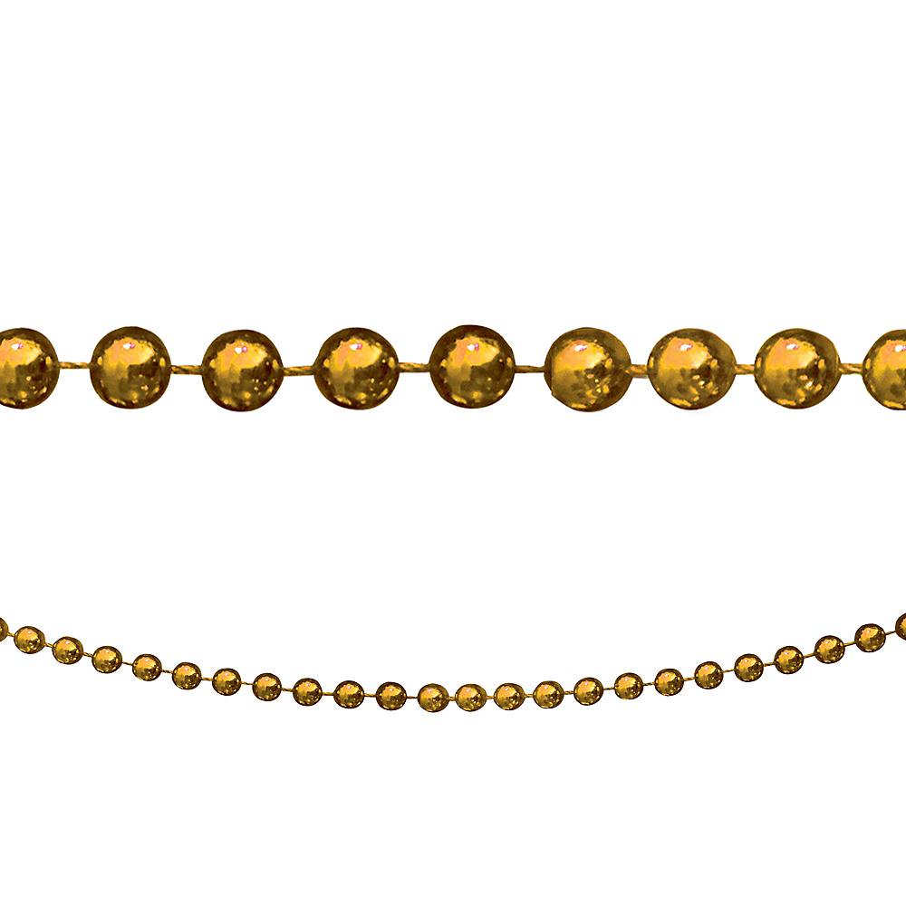 Gold Bead Garland Image #1
