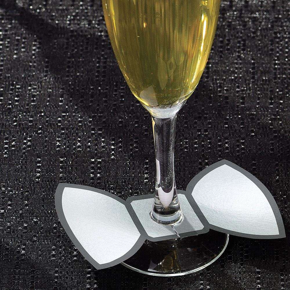 Nav Item for Champagne Flute Markers 18ct Image #2