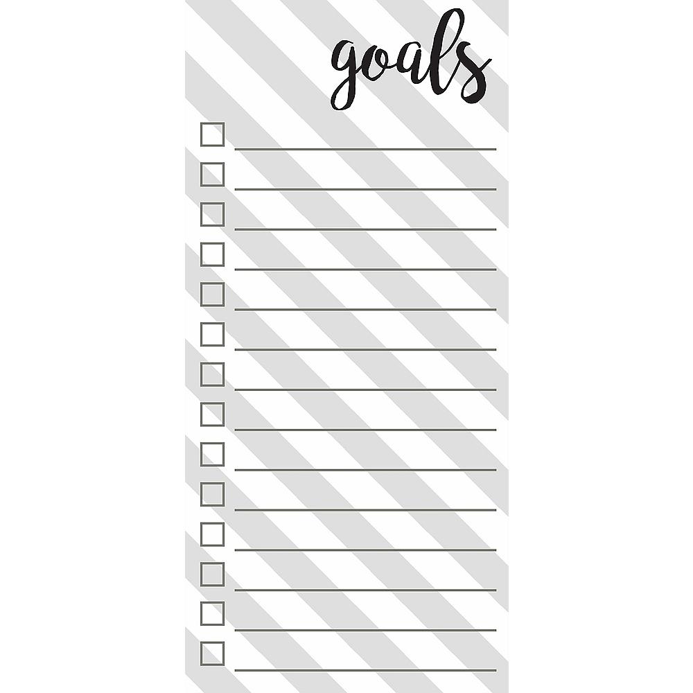 Goals Magnet List Pad Image #1