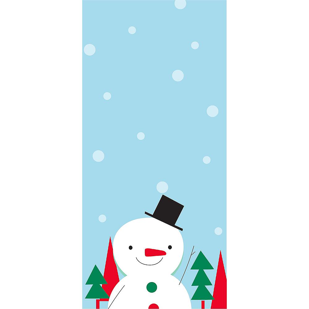 Snowman Magnet List Pad Image #1