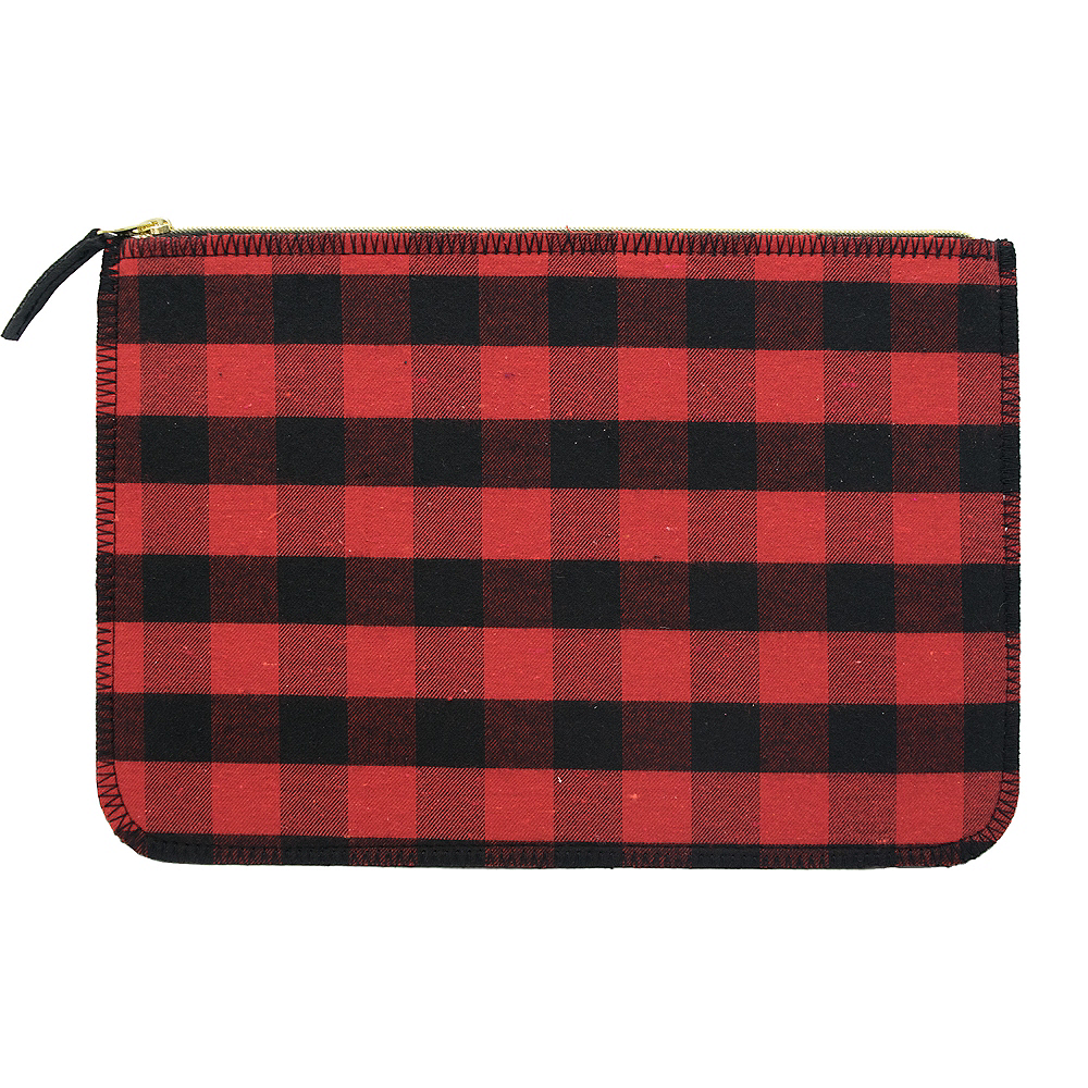 Nav Item for Buffalo Plaid Clutch Image #1