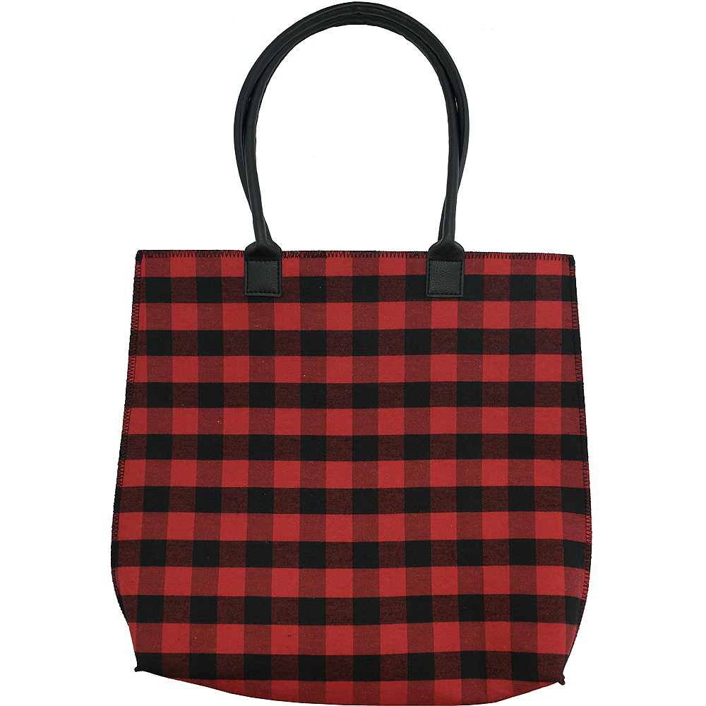 Buffalo Plaid Tote Image #1