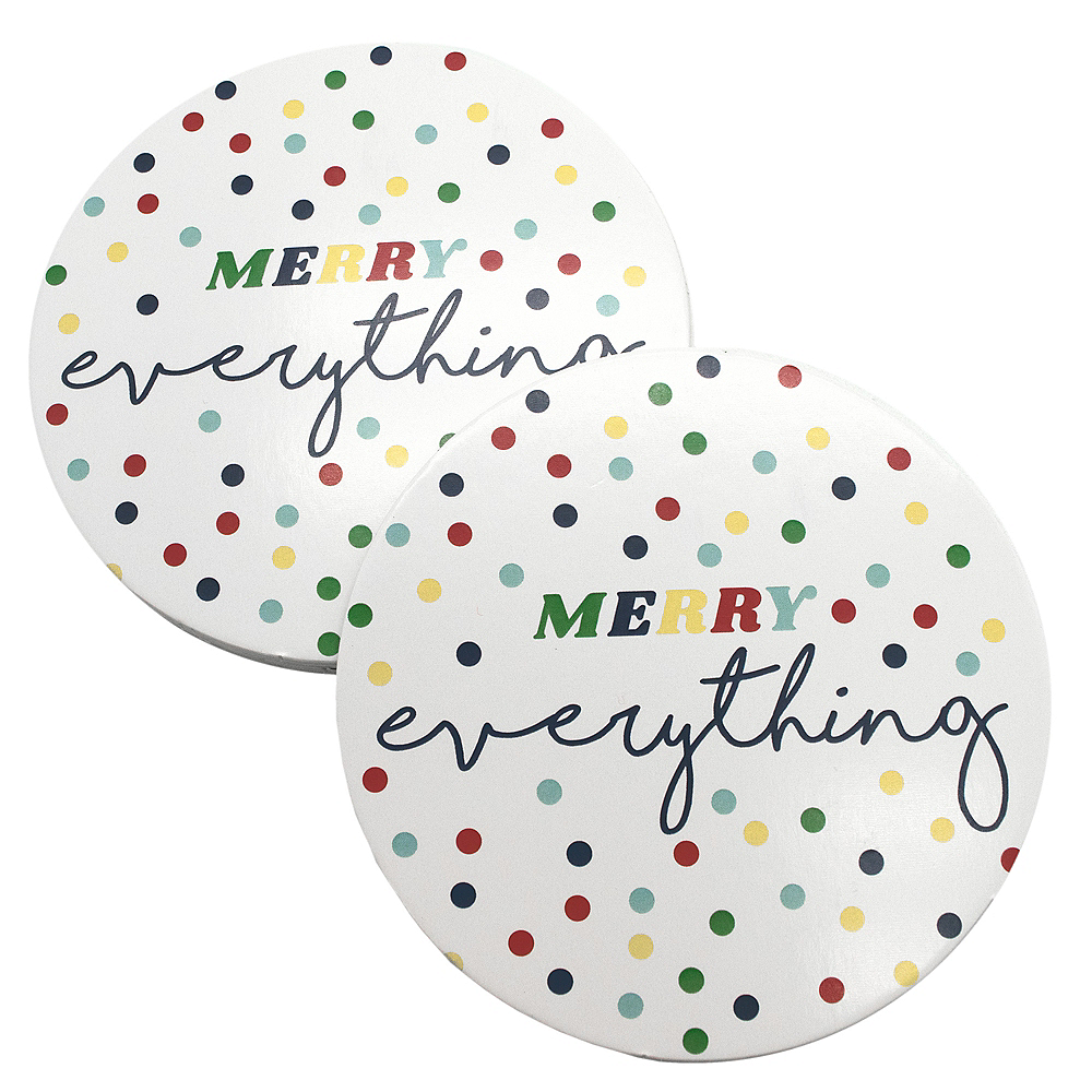 Merry Everything Coasters 8ct Image #2