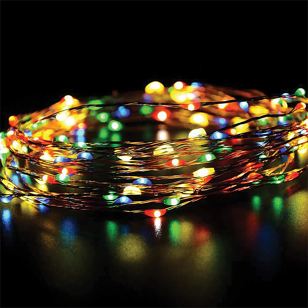 Copper Wire Multicolor LED String Lights Image #2
