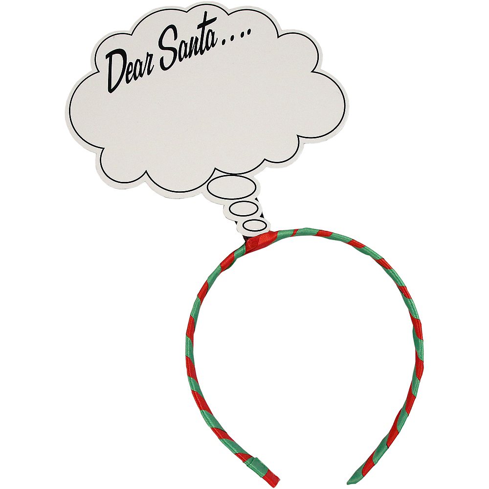 Dear Santa Headband Image #1